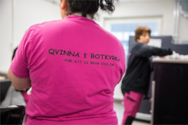Botkyrkabyggen anställer lokal arbetskraft genom Qvinna i Botkyrka