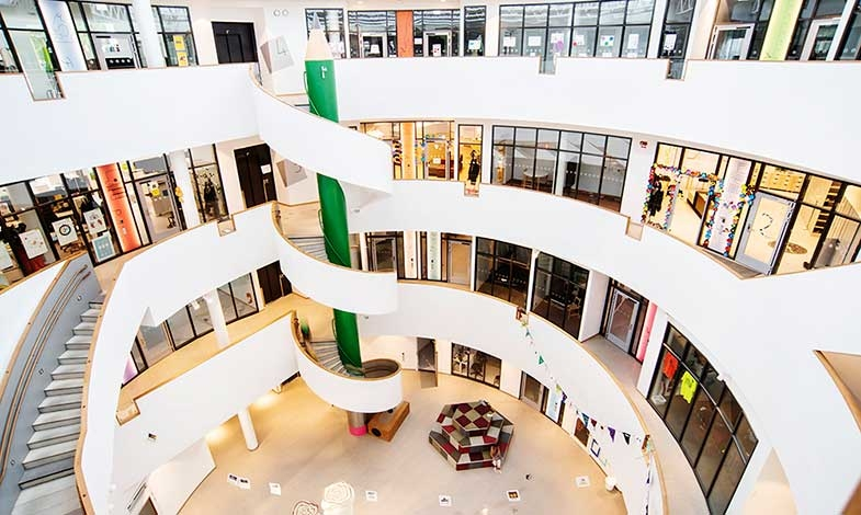 Miljömärkt skola vinner Huddinges byggnadspris