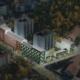 Gamla parkeringsplatser blir nya hyresrätter i Jakobsberg