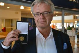 Professor får guldmedalj för betongforskning