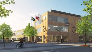 De bygger skola i Sigtuna stadsängar