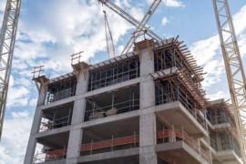 Betong vanligaste stommaterialet i nybyggda flerbostadshus