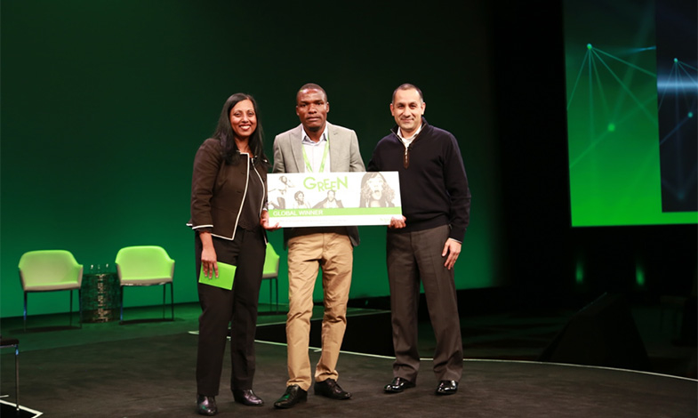 Solcellsdrivet växthus blev vinnare i studenttävling