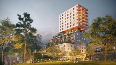 Belatchew Arkitekter utformar Hagsätras nya sociala landmärke