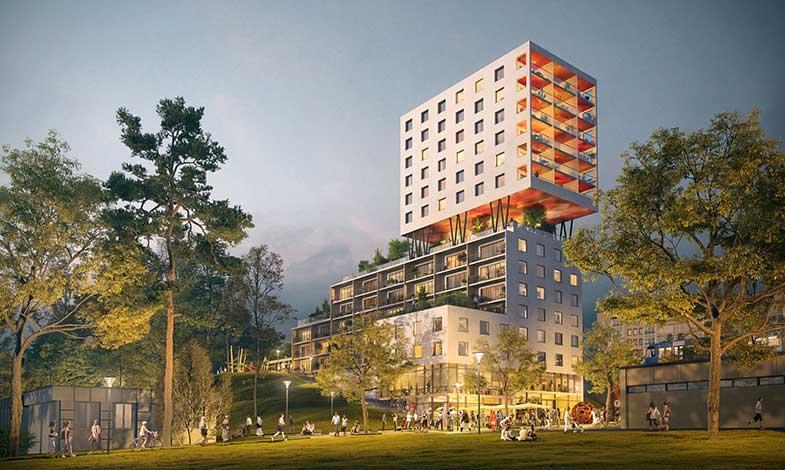 Belatchew-Arkitekter-utformar-Hagsätras-nya-sociala-landmärke