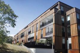 Intresset för flervåningshus i limträ ökar i branschen