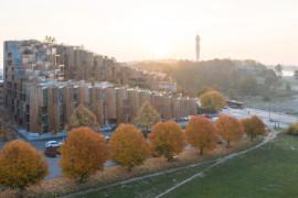 Fyra projekt tävlar om Sveriges Arkitekters Bostadspris