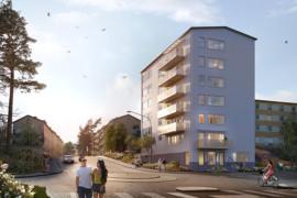 HSB Stockholm bygger hyresrätter i Traneberg