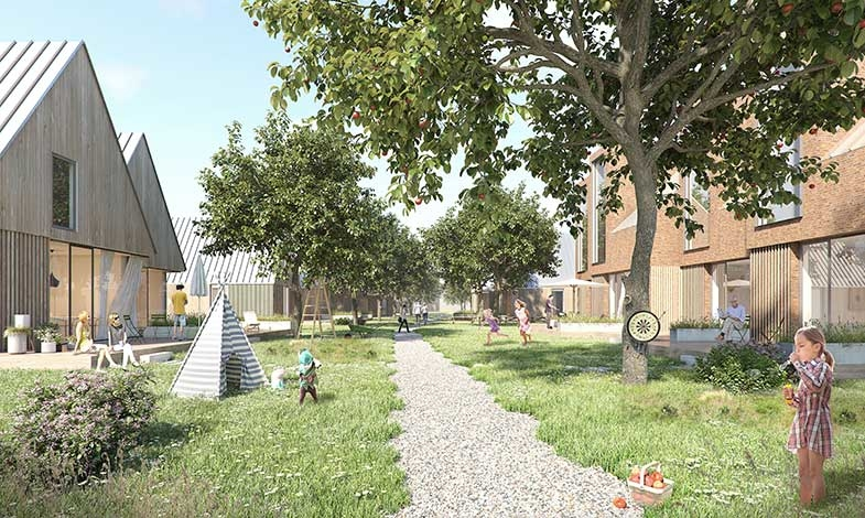 Arkitema utvecklar ny grön stadsdel i Bjärred