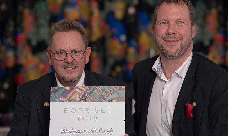 Helsingborgshem vinner Bopriset för upprustningen av Drottninghög
