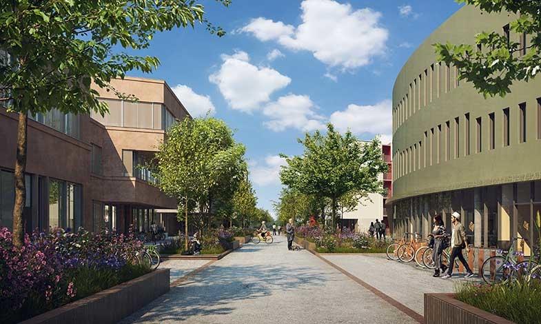 Campus Albano första campusområdet som certifieras enligt Citylab