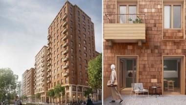 Grönt ljus till Stockholms första stora massivträprojekt