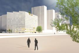 De bygger nollenergi-hotell i Arenastaden