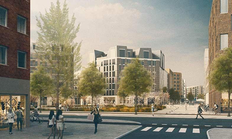 Klart för byggstart av Barkarbystadens tredje etapp