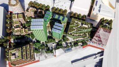 Interaktiv karta ger lärdomar om integrerad solenergi i staden