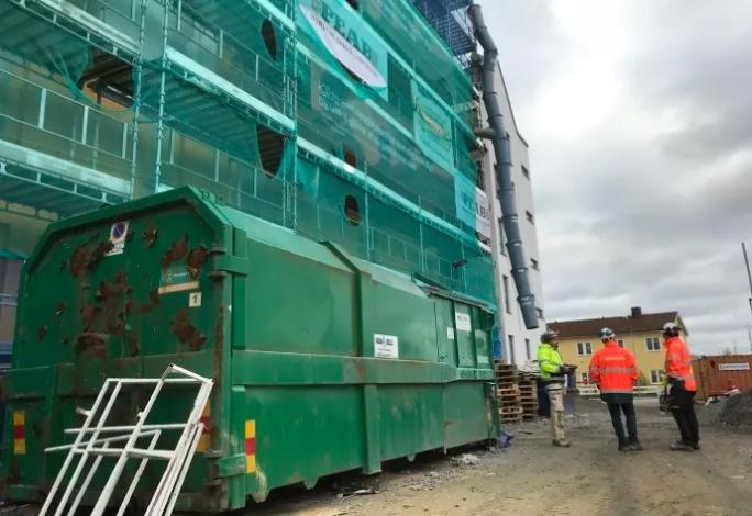 Peab deltar i ROCKWOOLs återvinningsprogram