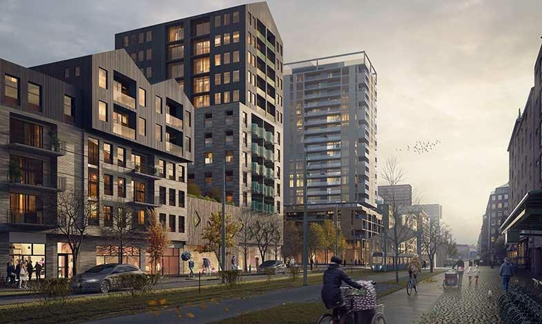 Avtal klart för nya bostäder vid Masthuggskajen