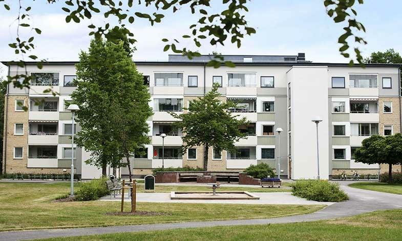Ombyggda hyresrätter i Linköping klarar miljöcertifiering