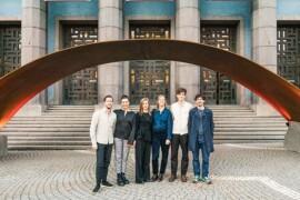 Varg Arkitekter levererade vinnande stålentré