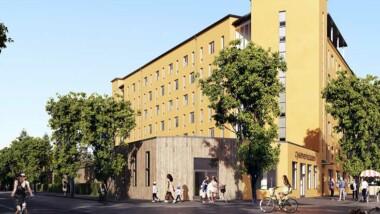 Nytt bostadsområde i Täby Park sätter cykeln i centrum