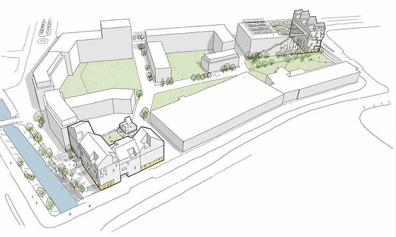 Wästbygg uppför NollCO2-kvarter i Västra Hamnen