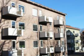 Lösning med tilluftskanaler halverade energianvändningen i HSB-hus
