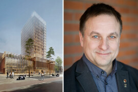 Kommunalpolitiker får utmärkelse för träsatsningar i Skellefteå