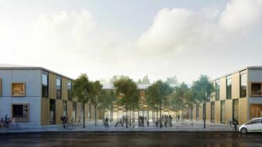 HMB Construction bygger ny skola i Öster Mälarstrand