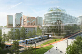 Belatchews bostadskoncept tog hem arkitekturpris i Cannes