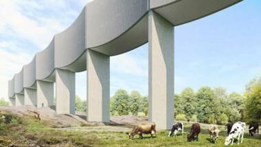 Veidekkebygger nya vattentornet i Varberg
