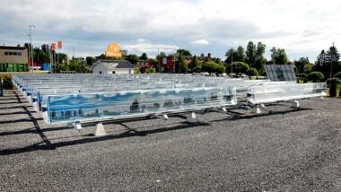 Lagring av solvärme från sommar till vinter utforskas i fjärrvärmeprojekt