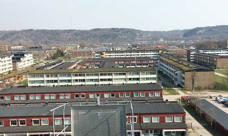 Bostadsrättsförening i Göteborg storsatsar på solceller