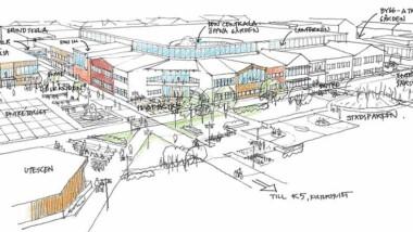 HENT bygger Kunskapsstaden i nya Kiruna
