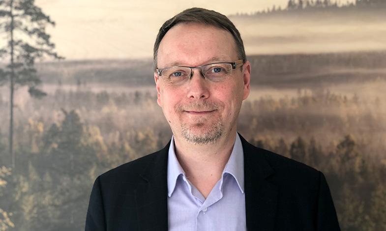 Han tar över ledarskapet på Svenskt Trä