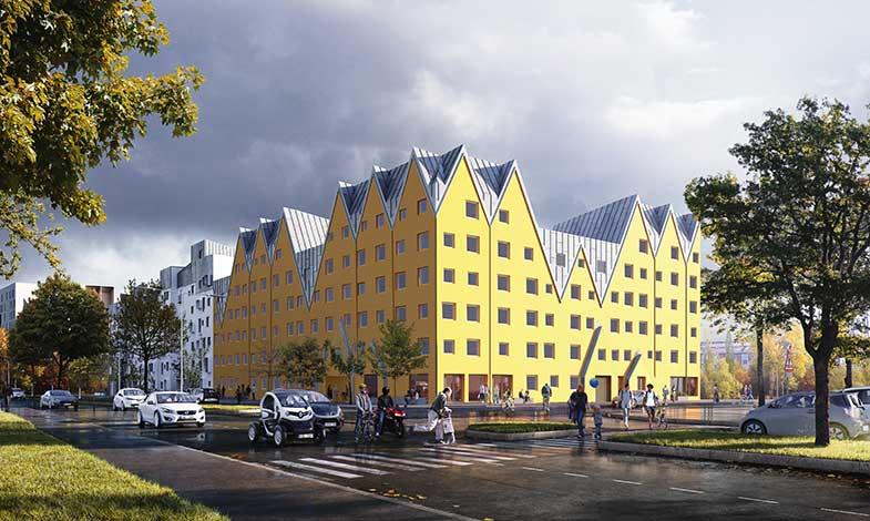 ByggVesta bygger vidare i Östra Sala backe