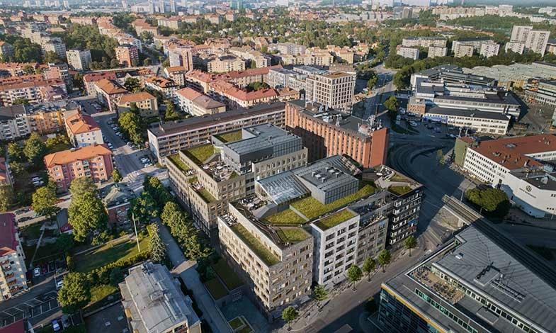Skanska bygger Skatteverkets nya kontor i Sundbyberg