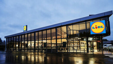 Skanska bygger ny Lidl-butik i Halmstad