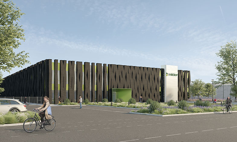 MVB bygger miljömärkta lokaler till MilDef i Helsingborg