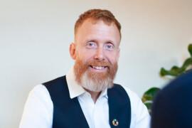 Han blir ny hållbarhetschef på LINK arkitektur