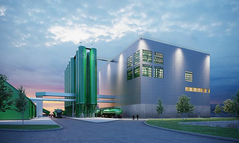 Sweco bygger ny anläggning för hållbara lösningar av avfallshantering