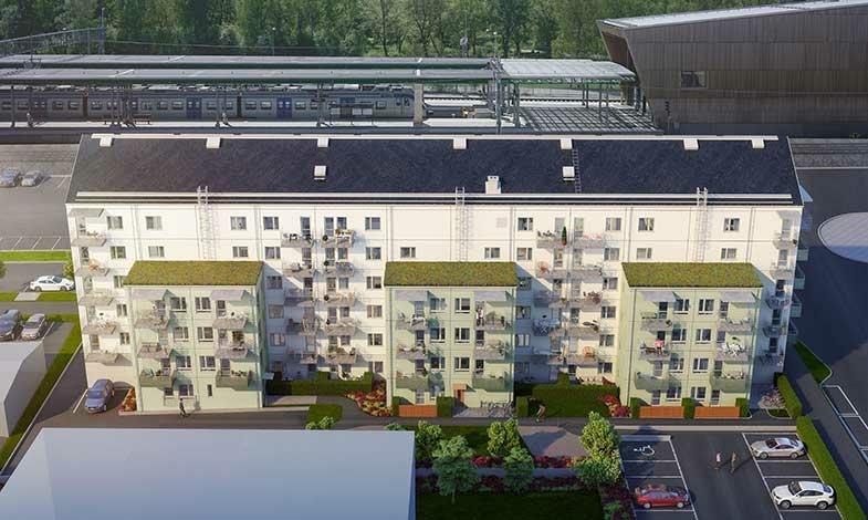 HSB byggstartar nya lägenheter i Kallhäll