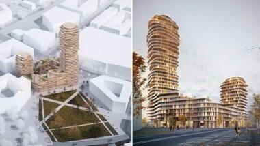 Nacka stads nya landmärke blev vinnare på DNA Paris Design Awards