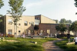 Derome bygger Sveriges första fossilfria förskola