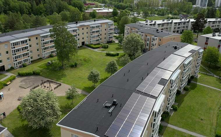 Invigning av solcellsanläggning i Riksbyggens Brf Nyköpingshus