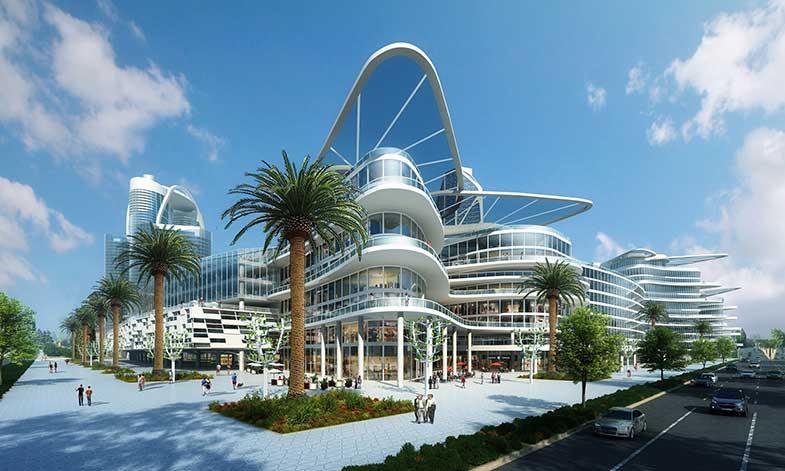 Högteknologisk ministad blir verklighet i Las Vegas