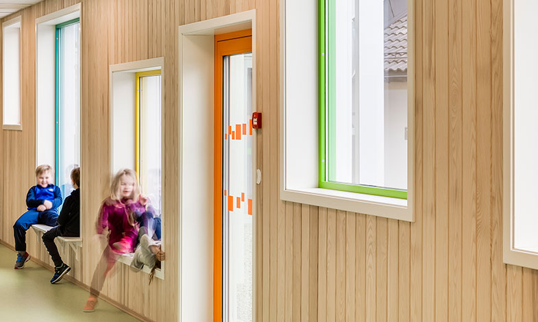 De ritar Sveriges första fossilfria förskola