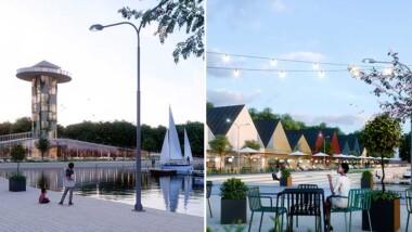 Så kan Örebros nya småbåtshamn komma att se ut
