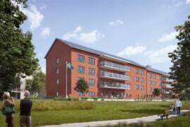 Skanska bygger äldreboende i Kviberg