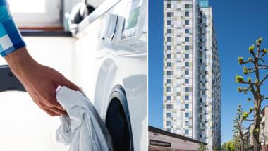 Tensta Torn får tvättmedelsfria tvättstugor