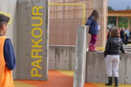 Jämställd aktivitetspark invigd i Upplands-Bro